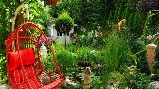 Садовые качели 30 примеров качелей для дачи(Садовые качели - это прекрасный и очень модный элемент оформления приусадебного участка. Не теряем время,..., 2016-03-06T13:10:21.000Z)
