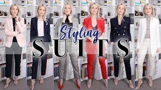 HOW TO WEAR A SUIT | STYLE IDEAS AND ACCESSORIES