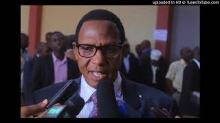 Rtd Col Dodo:  Tugiye gukora ingendo Kenya, Burundi, tugure n'indege