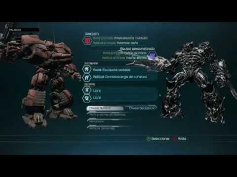 Transformers: El lado oscuro de la Luna - Gameplay del modo multijugador comentado en español
