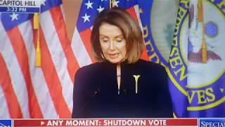 Nancy says Border Crisis is NOT National Emergency?
