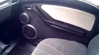 Подиумы своими руками. Дверные карты. Автозвук SQ(В этом видео я покажу, как выглядят подиумы в (авто) двери , своими руками 3-х полосный фронт в ваз 2107. Автозвук..., 2014-10-22T11:07:11.000Z)