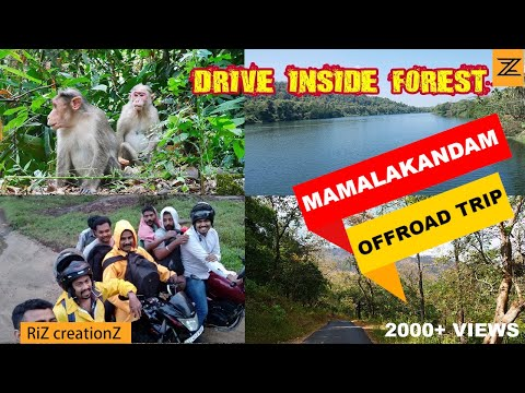 Mamalakandam Forest Offroad Trip Travelogue