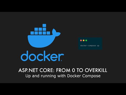 Episode 027 - Up And Running With Docker Compose - ASP.NET Core: From 0 To Overkill