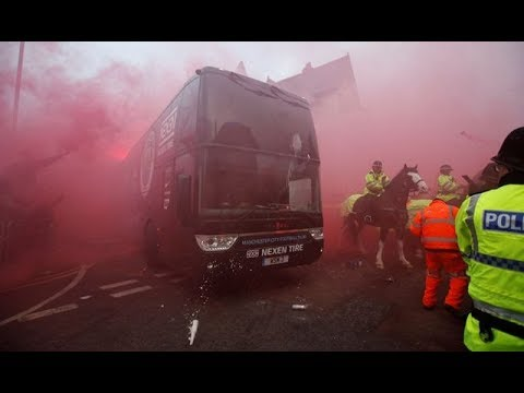 UEFA charge Liverpool FC over Manchester City bus attack