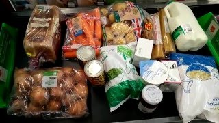 Veggie LAD: Below The Line, £1 per day Food Challenge- The Shopping Trip