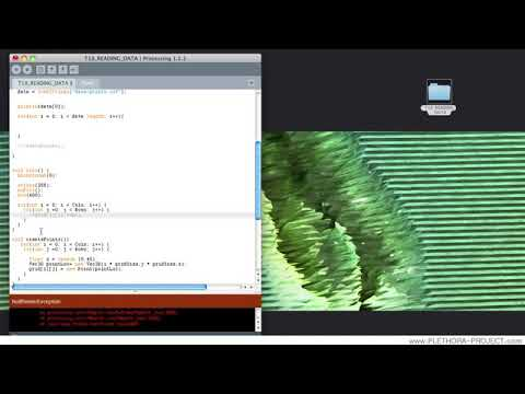 18 Processing Tutorial 18   Importing Data