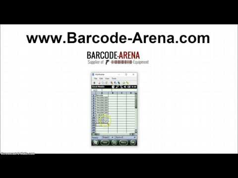 How-To Scan Barcodes And Collect Data With Handheld Barcode Scanner Wireless Devices