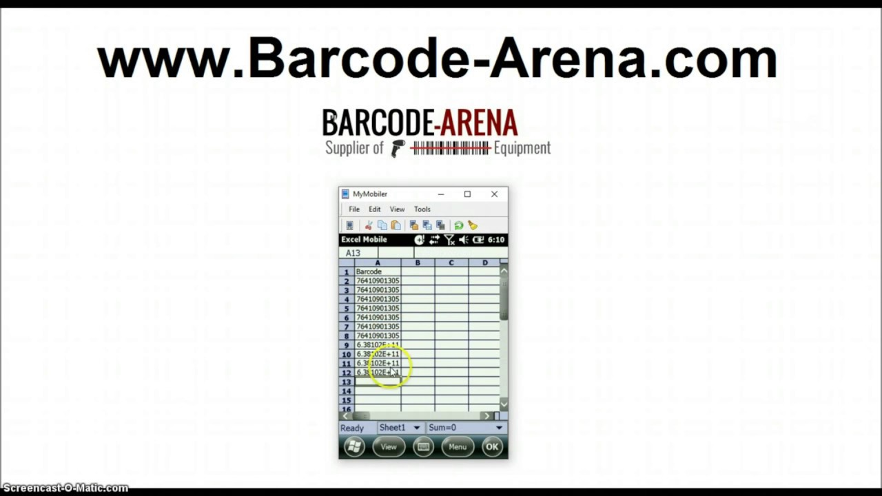 How-To Scan Barcodes and Collect Data with Handheld