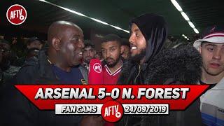 Arsenal 5-0 Nottingham Forest | Tierney Could Be Our Best Left Back Since Ashley Cole ! (Livz)