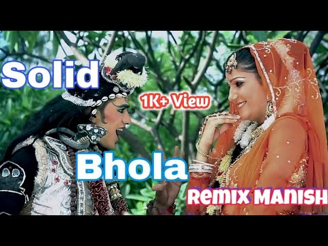 Solid Bhola 💪  New Latest Haryanvi Song ( Hard Dholki Mix ) [ Dj Remix Manish ]
