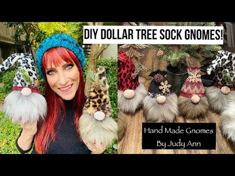 DIY DOLLAR TREE CHRISTMAS GNOMES - YouTube