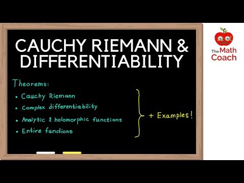 Cauchy Riemann Equations and Differentiability | Analytic VS Holomorphic | Complex Analysis #2