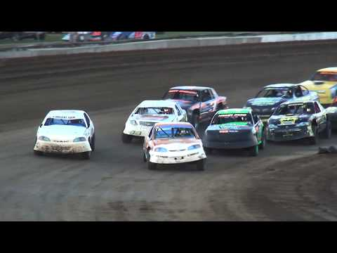IMCA Stock Car feature Independence Motor Speedway 6/24/17