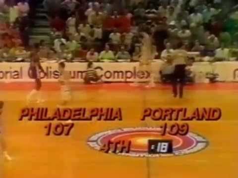 George McGinnis game 6 1977 NBA finals highlights