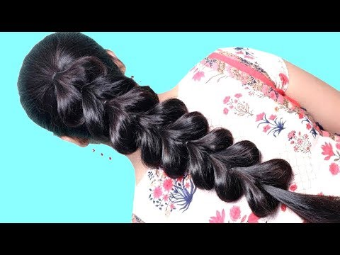 easy-and-beautiful-hairstyle-tricks-|-gorgeous-hairstyle-|-cute-hairstyle-|-juda-hairstyles