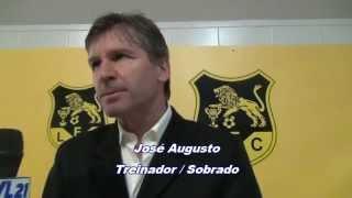 Futebol / Entrevista / José Augusto (Treinador- Sobrado) / 03-05-2015