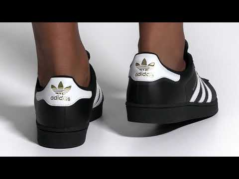 Adidas Superstar Foundation Shoes/Black/Adidas US  || Original shoes || Official Video