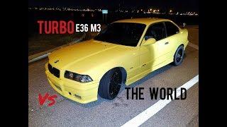 Turbo E36 M3 vs 135i, C63 S AMG & 335i