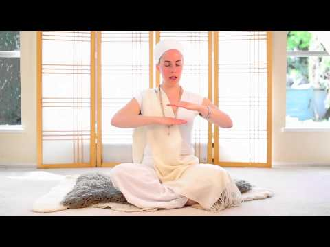Nirinjan Kaur teaches the Adi Shakti Meditation