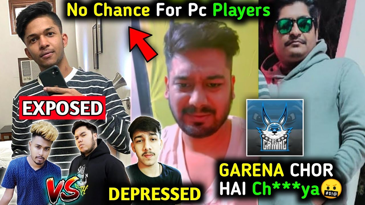 GSK exposed Lokesh Gamer?| AS Gaming angry on Garena?| PC player Out from CRX?| Real age of Raistar