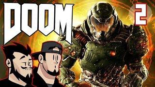 DOOM Lets Play: Explosive Exterior - PART 2  - TenMoreMinutes