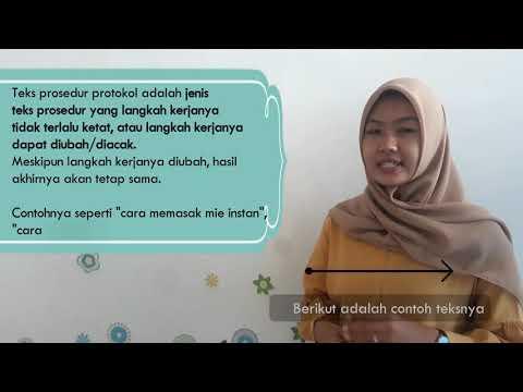 Video Pembelajaran: TEKS PROSEDUR