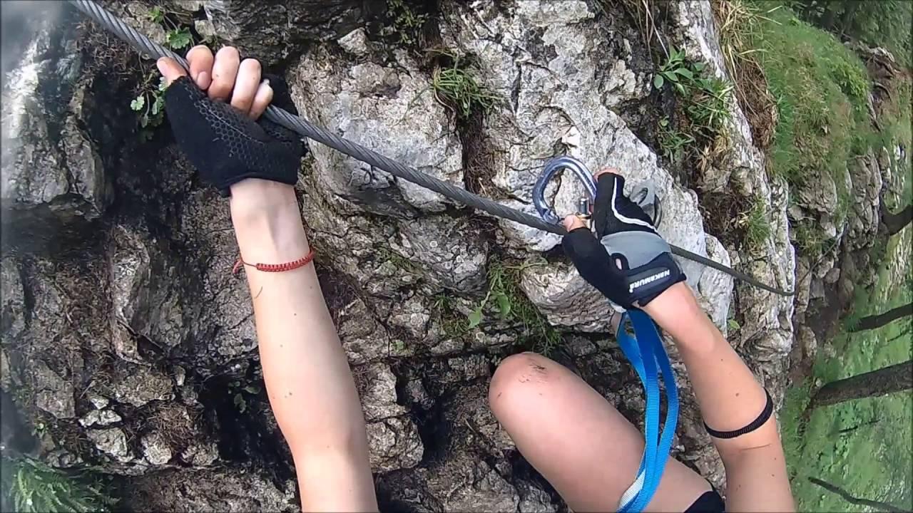 Klettersteig Hochlantsch : Naturfreunde klettersteig hochlantsch youtube