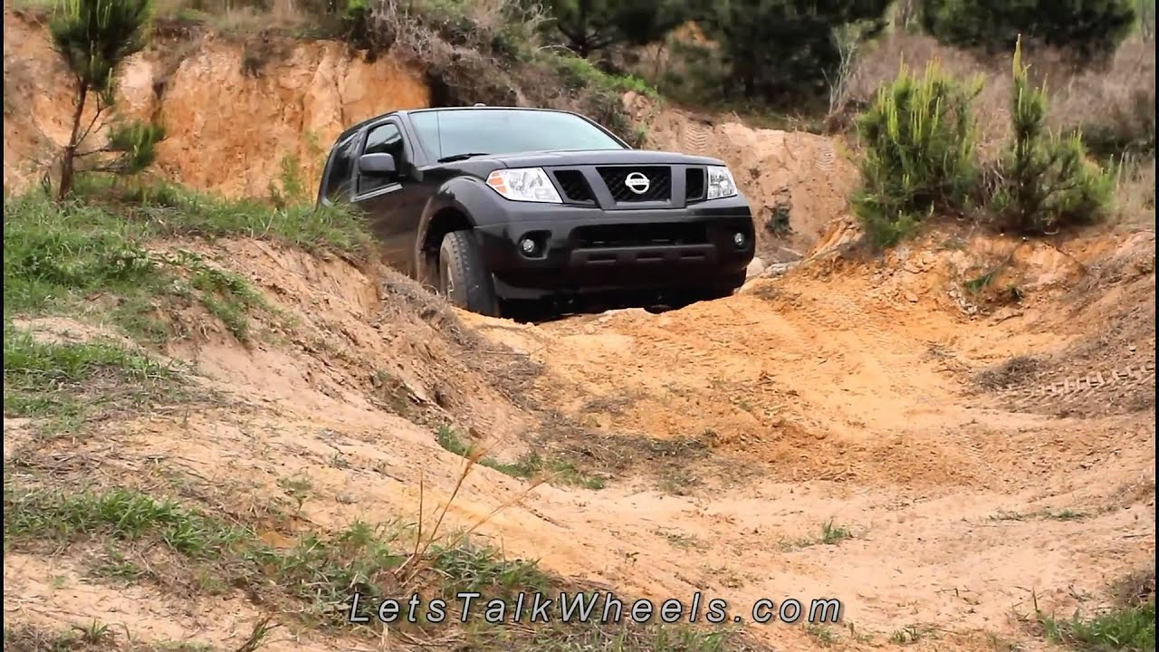 2011 nissan frontier pro-4x review - youtube