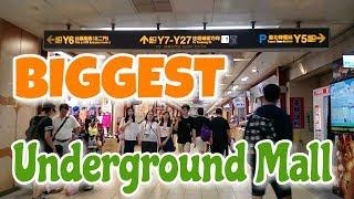 Exploring the BIGGEST Underground Mall | Taipei Metro Main Station |  Taiwan Travel