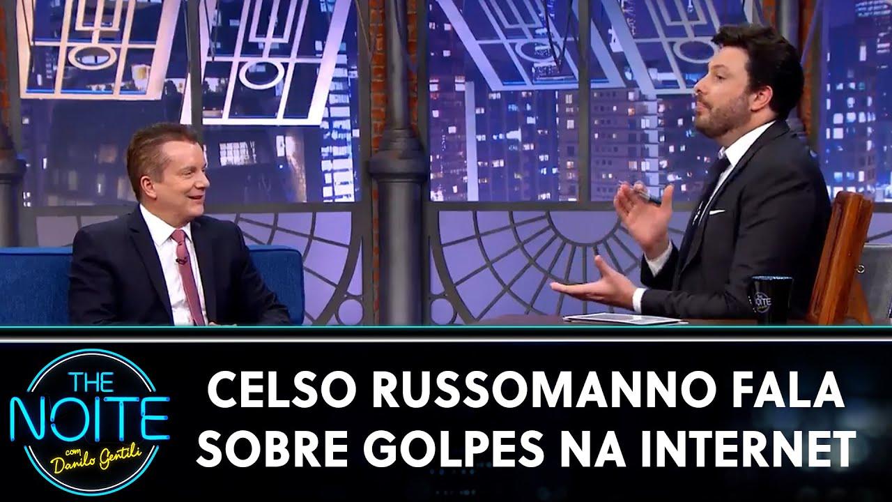 Celso Russomanno fala sobre golpes na internet | The Noite (04/08/20)