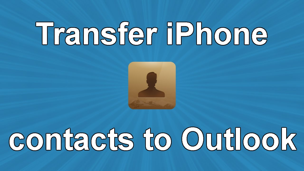 how to add outlook to iphone