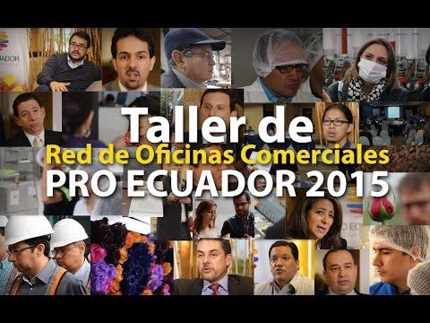 Pro ecuador taller de oficinas comerciales en el exterior for Oficinas comerciales en el exterior