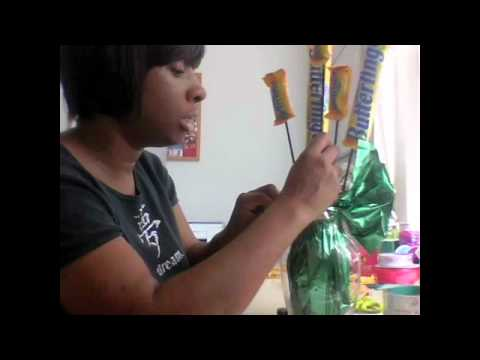How To Make A Candybar Bouquet Youtube
