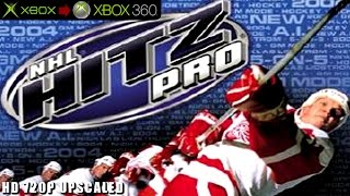 NHL Hitz Pro - Gameplay Xbox HD 720P (Xbox to Xbox 360)