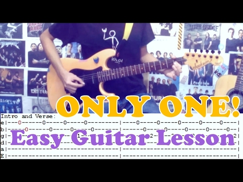 Only One Yellowcardcomplete Guitar Lessoncoverwith Chords And