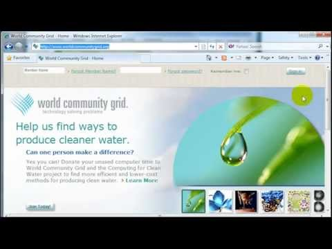 How To Become A World Community Grid Member And Help Cure Diseases