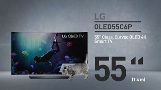 LG OLED55C6P Curved OLED 4K HDR Smart TV // Full Specs Review  #LGTV