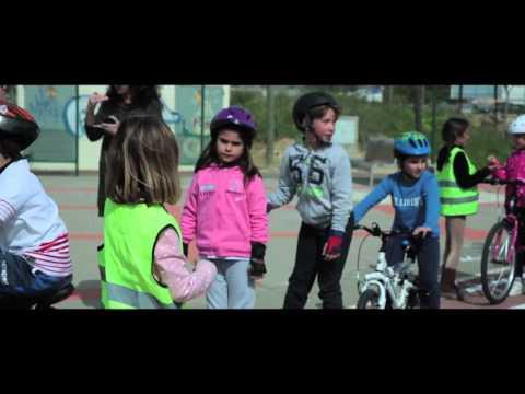 Mairena inaugura el parque de educación vial de la calle Marie Curie