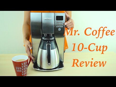 Mr Coffee Optimal Brew 10-Cup Thermal Coffee Maker Review - YouTube