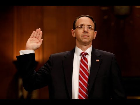 Rosenstein, McCabe and Coats testify at Senate Intel hearing