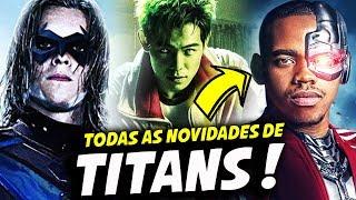 CIBORG CONFIRMADO E MUTANO VERDE! || TITANS 2ª TEMPORADA