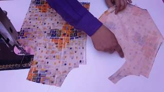 Western Type Blouse Cutting and Stitching
