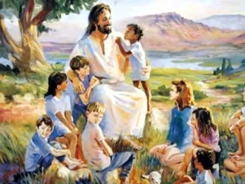 Resultado de imagem para Deixai as crianças e não as proibais de vir a mim, porque delas é o Reino dos Céus