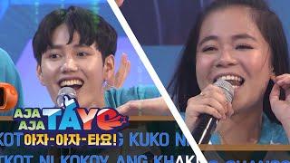 Korean Vs Filipino Tongue Twister Aja Aja Tayo S1 EP-1