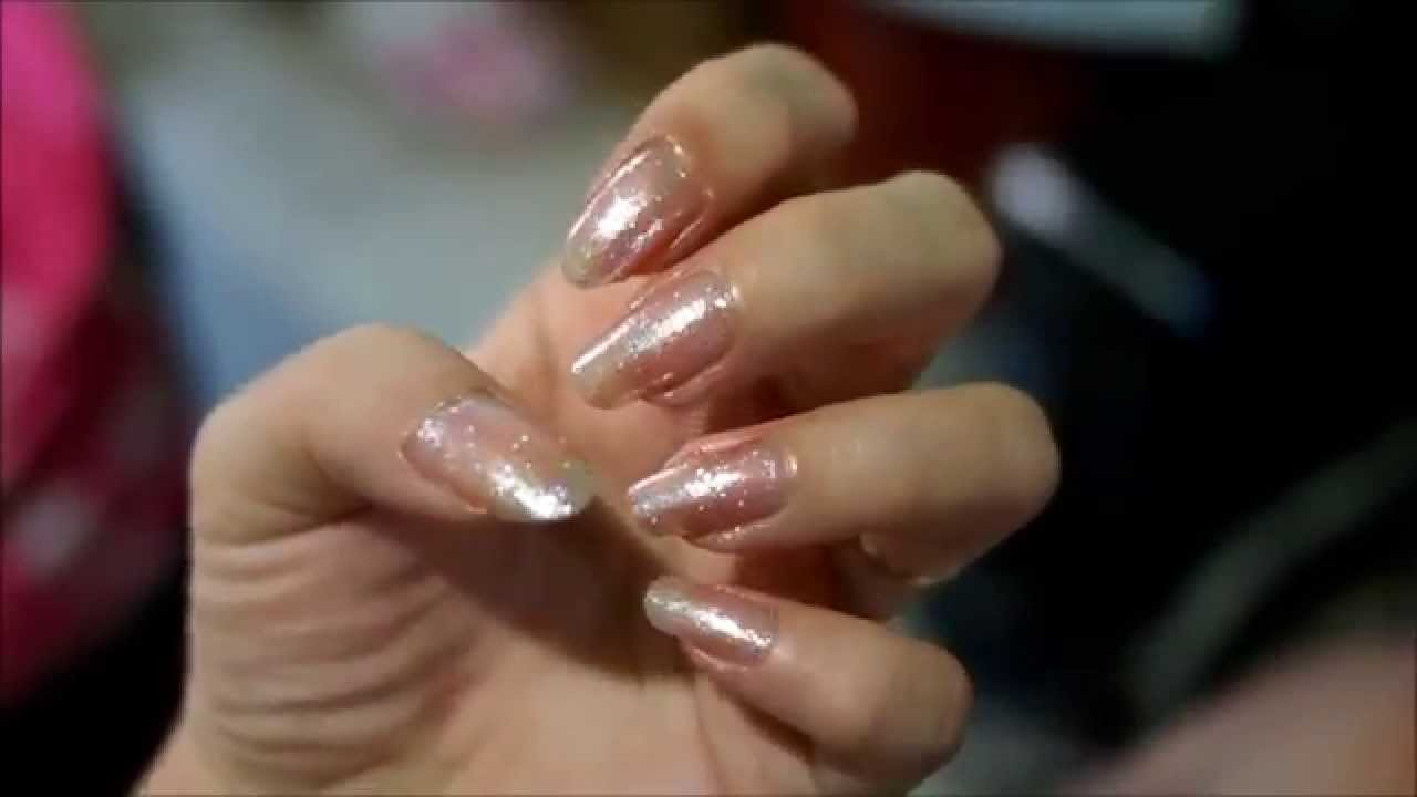 Kleancolor Pink Fairy nail polish - YouTube