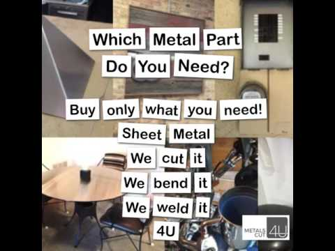 Sheet Metal at your fingertips - Customer Projects @MetalsCut4U