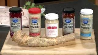 Chef Ralph Pagano cooks with Silver Spring Foods Horseradish