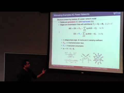 "Mahyar Fazlyab  presents ""Optimal Design for Synchronization of Oscillator Networks"""
