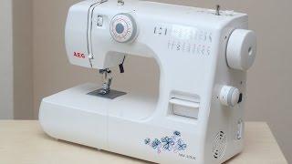 AEG NM 376 B Nähmaschine Швейна машина Швейна машина тест